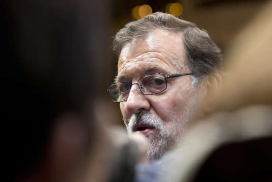 Le premier ministre espagnol, Mariano Rajoy, en mars 2016 à Bruxelles.