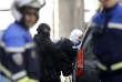 Opération policière mardi à Marseille en marge de l'arrestation des deux suspects.