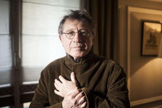 Denis Grozdanovitch à l'Hôtel des Saints-Pères, à Paris, en février.