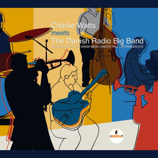 Pochette de l'album« Meets The Danish Radio Big Band», de Charlie Watts.