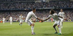Cristiano Ronaldo et Marcelo, en avril 2017.