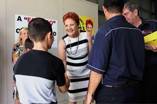 L'influence du parti australien d'extrême droite de Pauline Hanson, One Nation, ne cesse de croître.