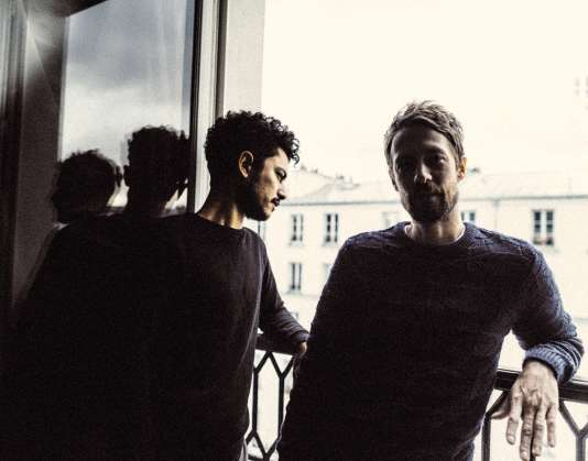 Le vidéaste Jonathan Alric (à gauche) et son cousin Guillaume Alric, musicien,forment le duo The Blaze.