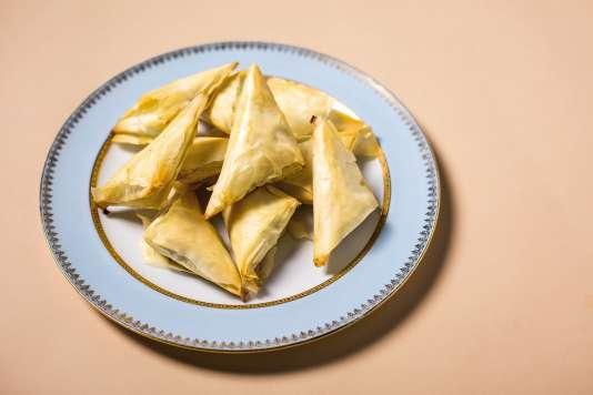 Les beureks peuvent être fourrés avec toutes sortes de farces, salées comme sucrées.