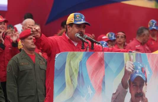Le president Nicolas Maduro, à Caracas, le 19avril.