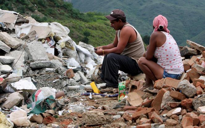 Dans la banlieue de Caracas.