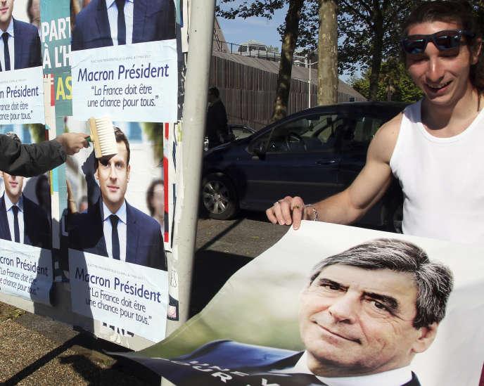 «Estimant l'écosystème français pas assez favorable à la dynamique entrepreneuriale, les jeunes créateurs appellent de leurs vœux un souffle de renouveau» (Supporteurs de Francois Fillon à Bayonne, le 19 avril).