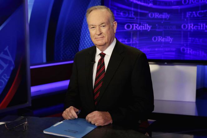 Bill O'Reilly, présentateur vedette pendant vingt ans.