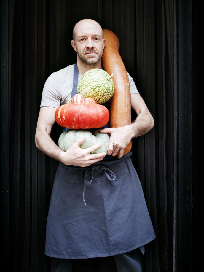 Antonin Bonnet a fait le choix d'une carte resserrée, où les légumes sont à l'honneur.