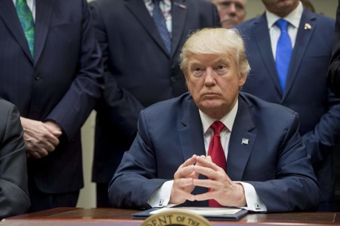 Donald Trump, le 19 avril à Washington.