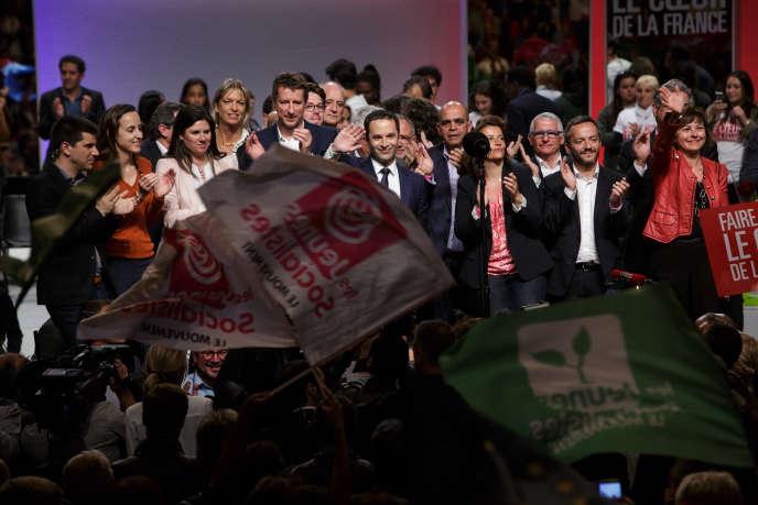 Meeting de Benoit Hamon à Toulouse le 18 avril.