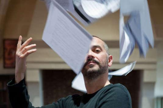 Arnaud Marzorati, baryton et directeur artistique de La Cliques des Lunaisiens.
