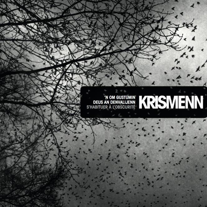 Pochette de l'album«'N om gustumiñ deus an deñvalijenn (S'habituer à l'obscurité)», de Krismenn.