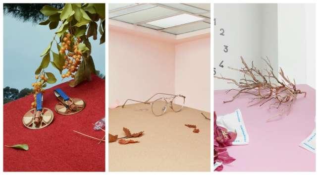 De gauche à droite, les collections de Noémie Nivelet, Emma Montague et du tandem Thibaut Rodde-Sandrine Pachecus.
