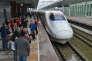 Un TGV à Chengdu en Chine, le 30 octobre 2014.