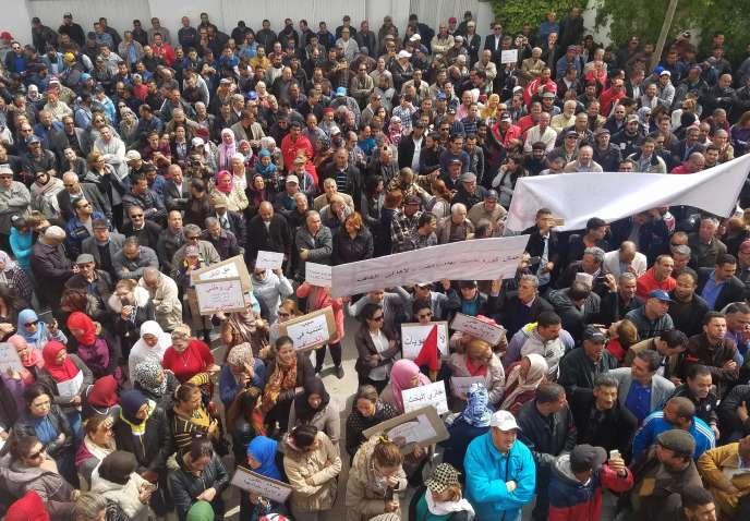 Aucun incident n'a été signalé lors de la marche de protestation des habitants du Kef.