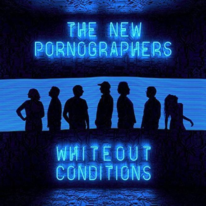 Pochette de l'album« Whiteout Conditions», de The New Pornographers.