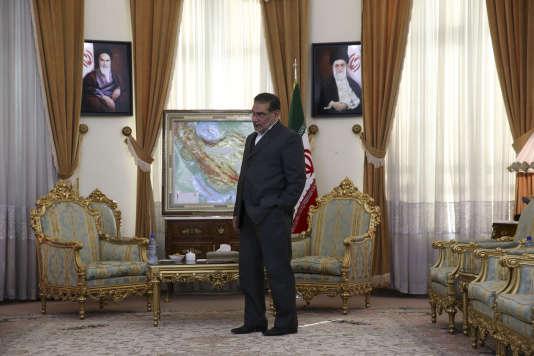 Le général Ali Shamkhani, à Téhéran, le 11 janvier 2016.