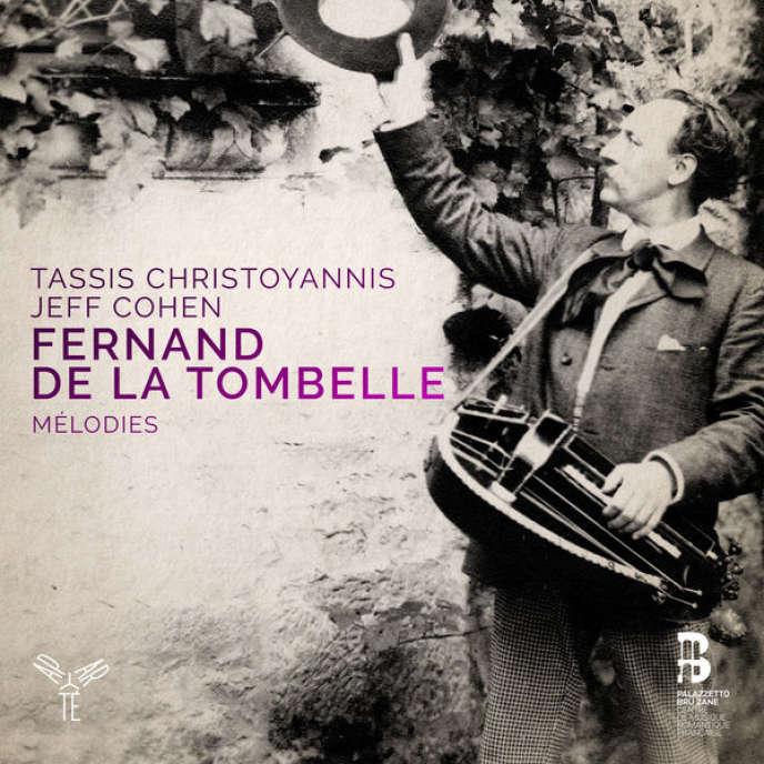 Pochette de l'album « Mélodies» consacré à des œuvres de Fernand de la Tombelle.
