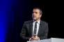 Arnaud Lagardère, en mai 2015 à Paris. L'actionnaire de la station Europe1 a annoncé au« Monde» vouloir en prendre la présidence.