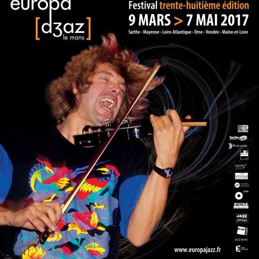 Le violoniste Didier Lockwood, l'une des musiciens programmés à l'Europa Jazz Festival du Mans, organisé du 9 mars au 7 mai.