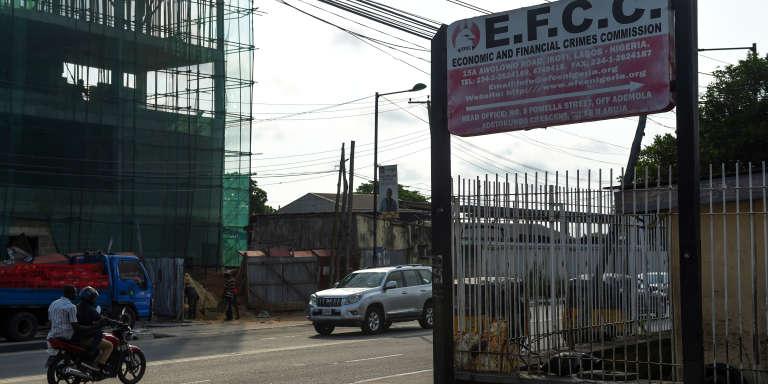 LaCommission des crimes économiques et financiers (EFCC), l'agence anti-corruption du Nigeria.