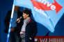Frauke Petry, lors du lancement, à Essen, le 8 avril, de la campagne de l'AfD pour les élections régionales en Rhénanie-du-Nord-Westphalie prévues en mai.