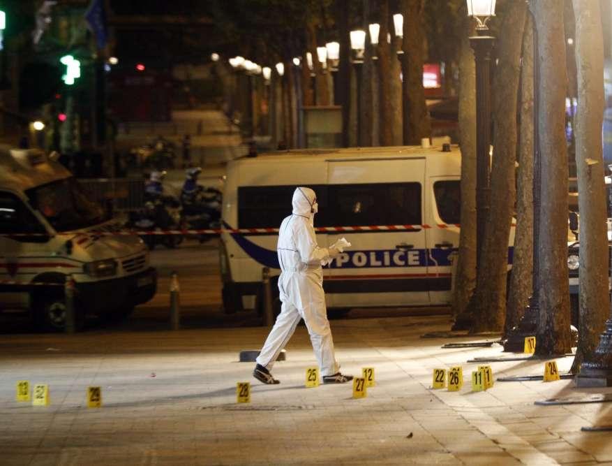 Des perquisitions ont notamment été menées dans la soirée en Seine-et-Marne, au domicile du titulaire de la carte grise du véhicule utilisé pour l'attaque.