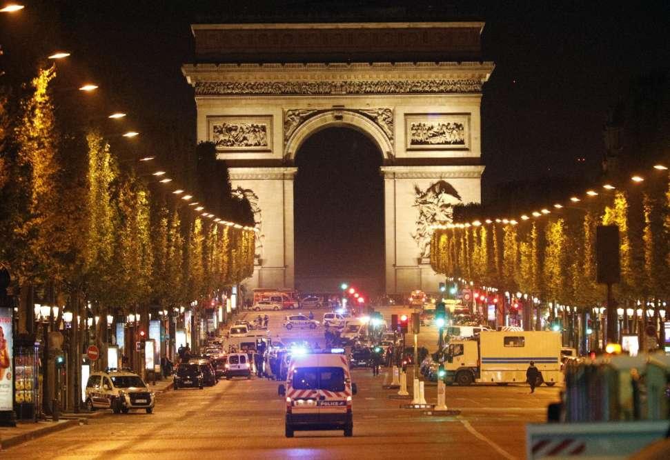 Une fusillade a éclaté jeudi 20 avril sur les Champs-Elysées, à Paris.