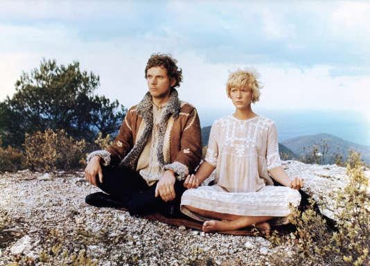 Mimsy Farmer et Klaus Grünberg dans«More» (1969) de Barbet Schroeder, 1969