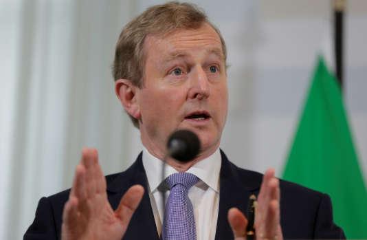 Le premier ministre irlandais Enda Kenny, le 21 avril à La Haye.