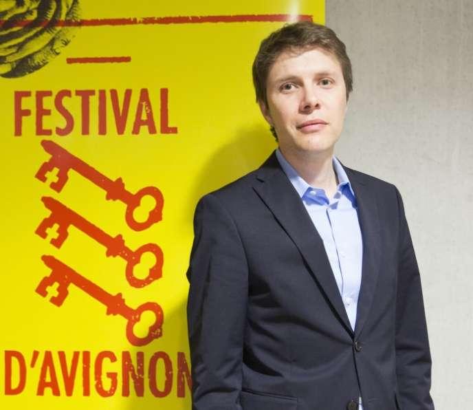 Paul Rondin,directeur délégué du Festival d'Avignon.
