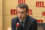 Emmanuel Macron, vendredi 21 avril sur RTL.