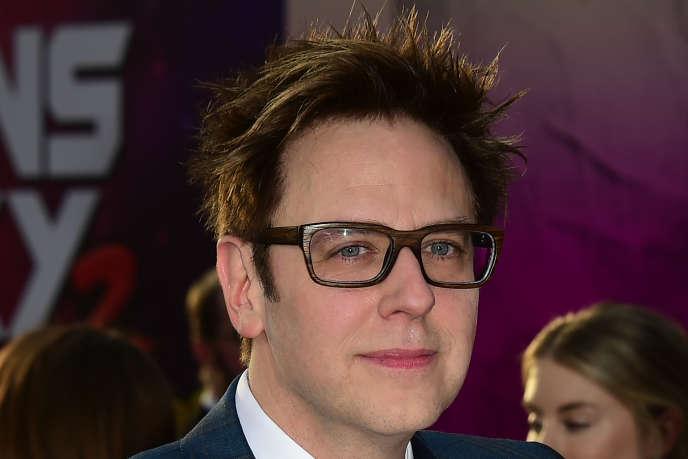 Le réalisateur James Gunn lors de la première du film «Les gardiens de la Galaxie 2», à Hollywood, le 19 avril 2017.