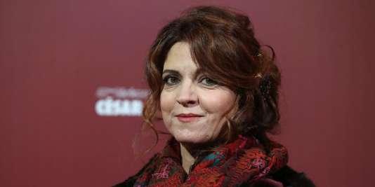 Agnès Jaoui, le 26 février 2016.