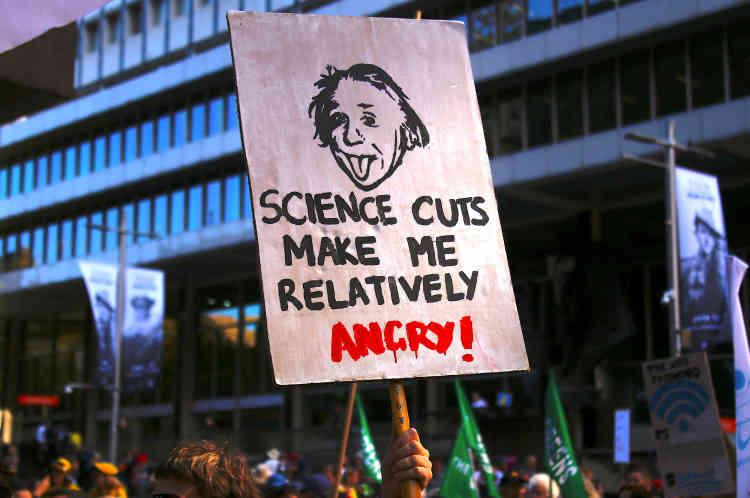 Marche pour la science à Sydney (Australie).