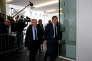 Bernard Accoyer et Francois Fillon, le 24 avril à Paris, au siège de LR.