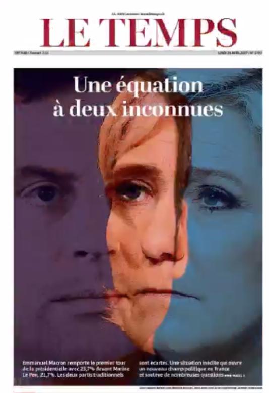 « Le pays vote pour un changement en profondeur», analyse le quotidien suisse Le Temps.