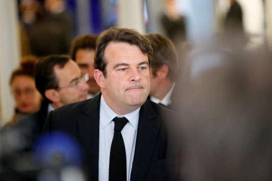Le député LR Thierry Solère, en avril 2014.