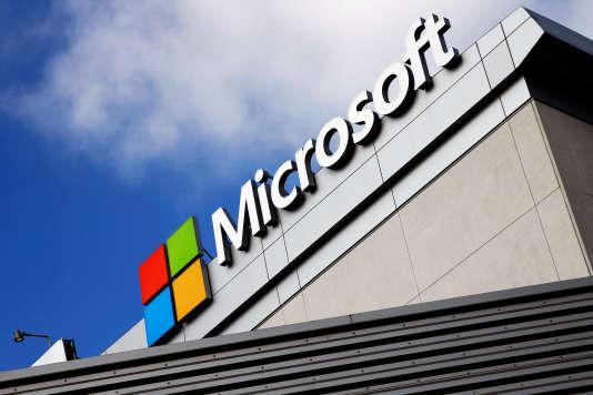 Les locaux de Microsoft à Los Angeles, en 2016.