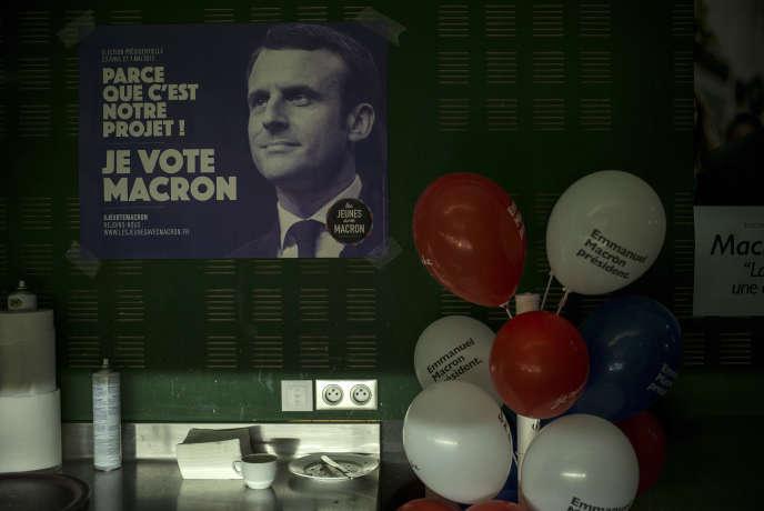 Le comité local monté par Alain a démarré avec deux militants. Au moment de l'élection, ils étaient une cinquantaine.