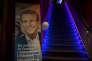 23 avril 2017 Toulouse, 1er tour des élections présidentielles. A toulouse, dans le bar le JGO, le QG des militants du mouvement En Marche de Emanuel Macron, apres l'annonce du resultat du 1 er tour. 1ertour2017, élection, vote, présidentielles, Toulouse, Macron, resultat, Macron