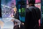 Marine Le Pen, le mari 25 avril sur le plateau de TF1 pour l'émission« Elysée 2017».