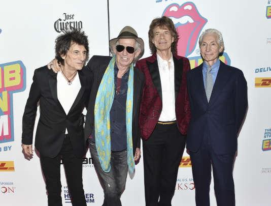 Les Rolling Stones, le 15 novembre 2016, à New York.