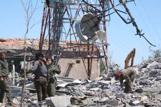 Des raids aériens turcs ont frappé le mont Karachok (Syrie), le 25 avril.