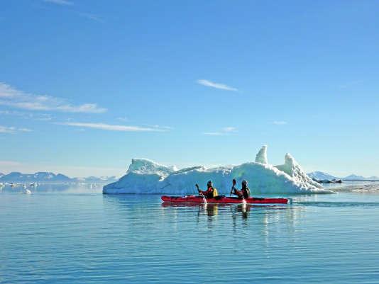Exploration du Spitzberg en kayak de mer.