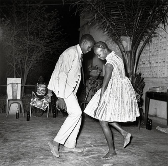 « Nuit de Noël», 1963. Tirage argentique moderne 100 x 100 cm.