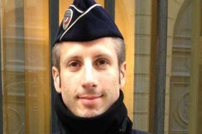 Xavier Jugelé, gardien de la paix assassiné par Karim Cheurfi, jeudi 20 avril, sur les Champs-Elysées.