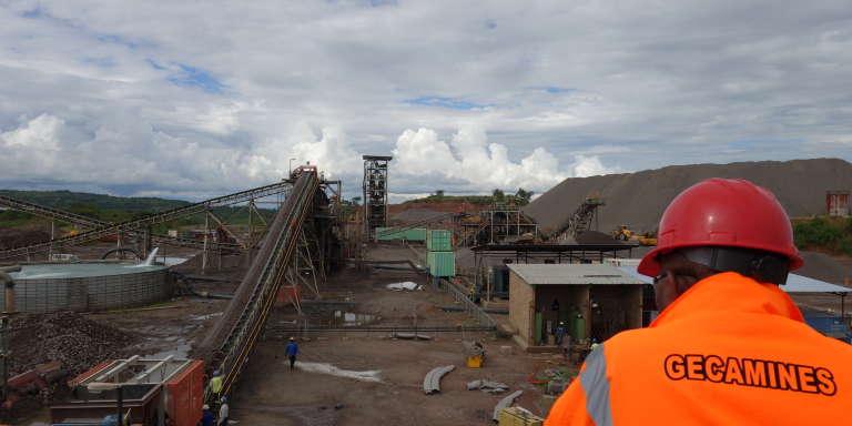 L'usine de Shituru, à Likasi, dans le Haut-Katanga.