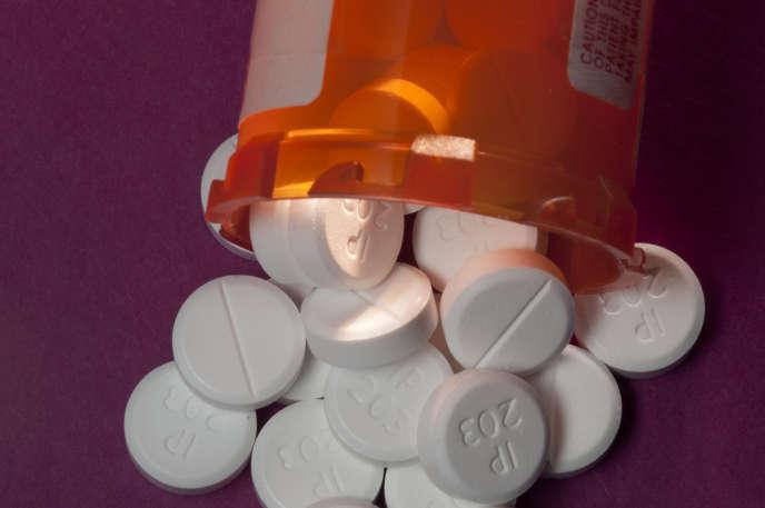 L'antidouleur Oxycodone fait partie des opioïdes les plus consommés.